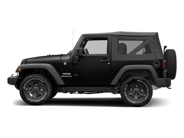 Discount Car Parts >> 2017 Jeep WRANGLER SPORT S 4X4 1C4AJWAG6HL644533   Don ...