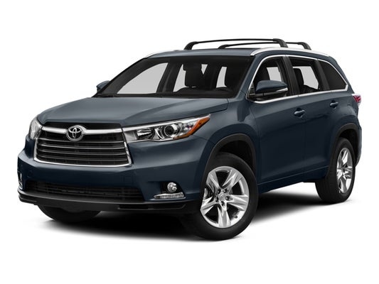 2015 Toyota Highlander Limited 5tddkrfh6fs131078 Used